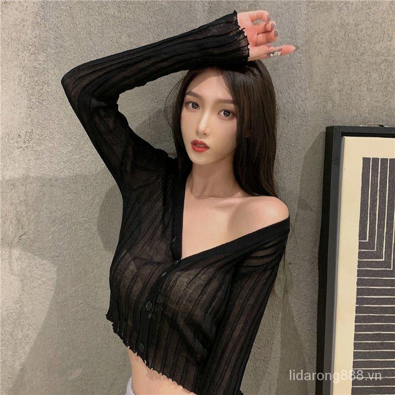 Áo Sơ Mi Dài Tay Thời Trang Mẫu 2021 Theo Phong Cách Hàn Quốc Dành Cho Nữ