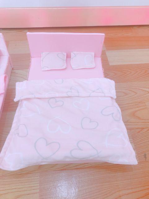 Giường đôi, giường đơn cho búp bê