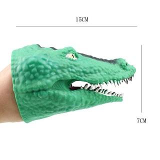 Rối tay hình cá sấu dễ thương