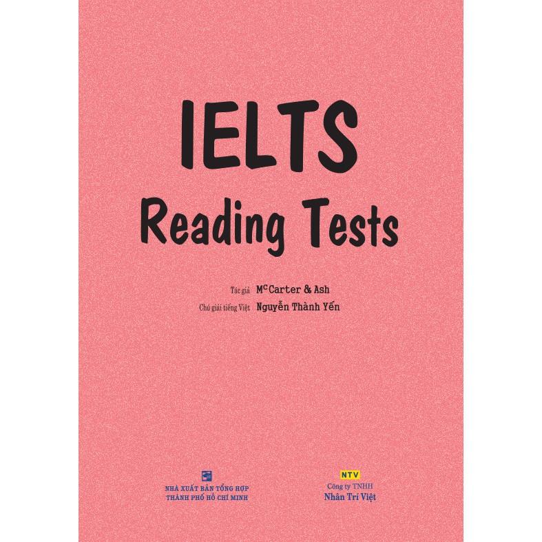 Sách - IELTS Reading Tests
