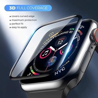 Kính Cường Lực 3d Hd Bảo Vệ Màn Hình Đồng Hồ Apple Watch 5 6 Se Kích Thước 44mm 40mm 3 4 Iwatch 42mm