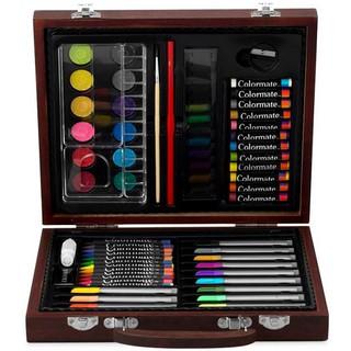 Bút chì màu hộp gỗ M56 Colormate