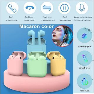 Tai Nghe Bluetooth I12 TWS Cảm Biến Vân Tay CỰC HAY inpods 12 Bluetooth Wireless Stereo Earphone Airpods IOS Android