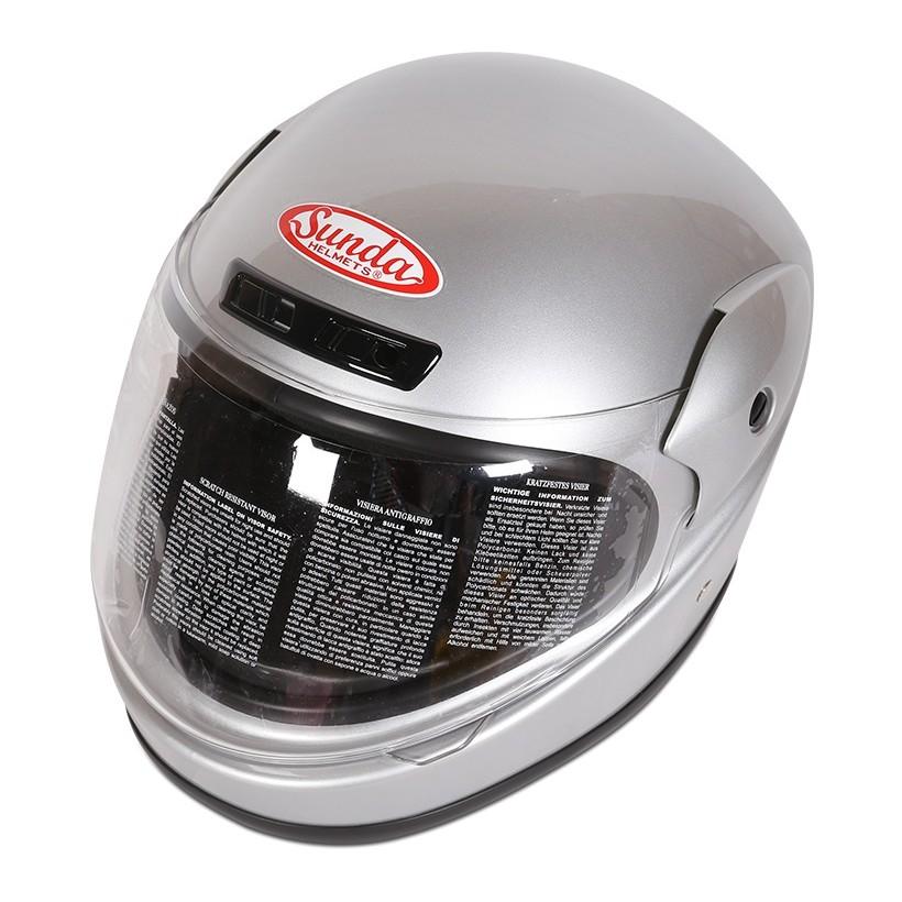Mũ bảo hiểm Sunda 555 (bạc)