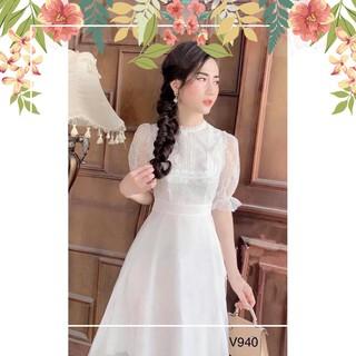 HÀNG CHUẨN Váy tơ công chúa V940- fullsize