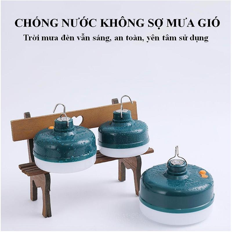 Bóng đèn LED sạc tích điện, ánh sáng trắng, có đế hít nam châm, móc treo  công suất 18-24-36W HL145 | Shopee Việt Nam