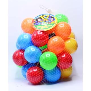 Túi 50 quả BÓNG NHỰA MẦM NON Sato 8 nhiều màu sắc (Sato26)