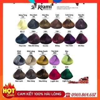 Thuốc nhuộm tóc Kami – Màu thông minh cân bằng, phủ bạc