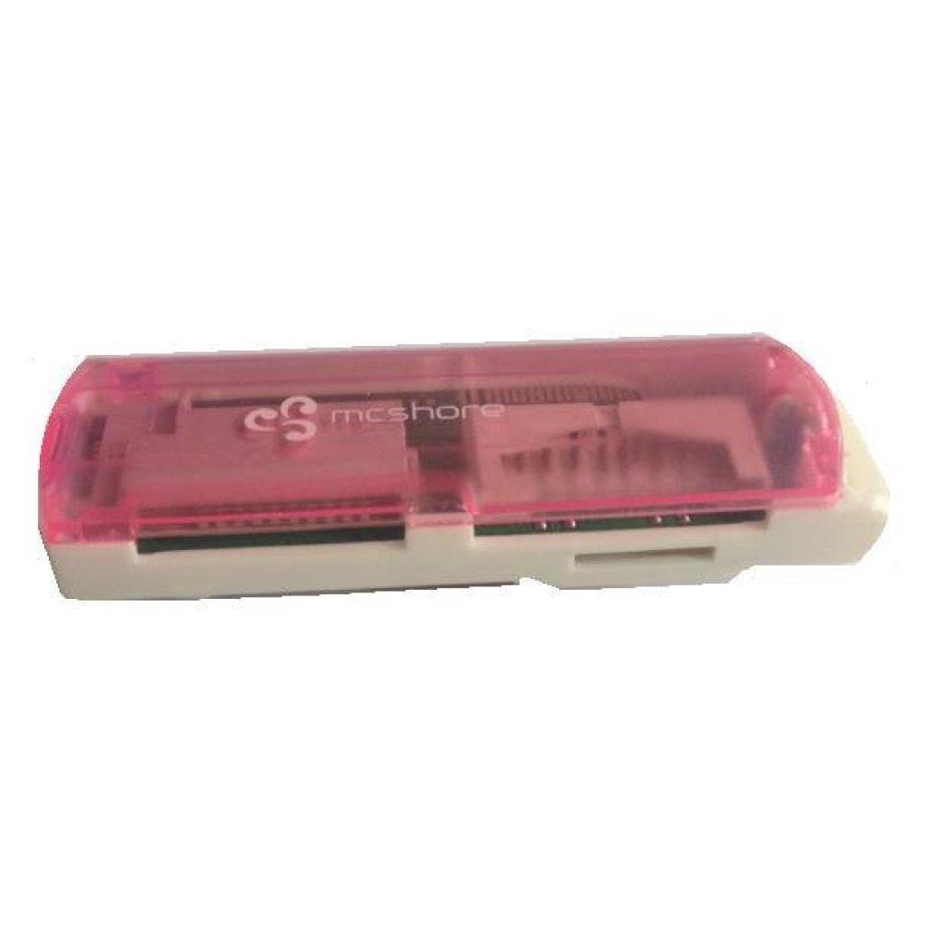 กระเป๋าคอมพิวเตอร์ Mcshore การ์ดรีดเดอร์ CR130P - สีชมพูระเป๋าคอมพิวเตอร์ Mcshore การ์ดรีดเดอร์ CR130P - สีชมพู