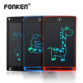 Bảng viết Fonken kĩ thuật số màn hình LCD xóa được siêu mỏng dành cho bé 8.5 inch thumbnail