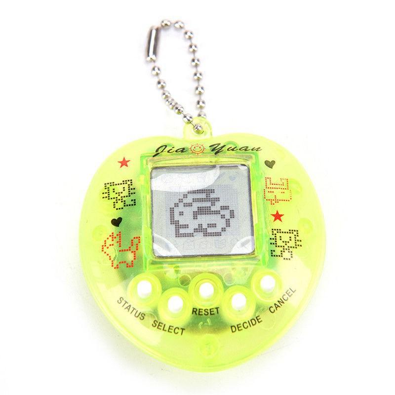 Máy nuôi thú ảo Tamagotchi hình quả đào 【 3C 】