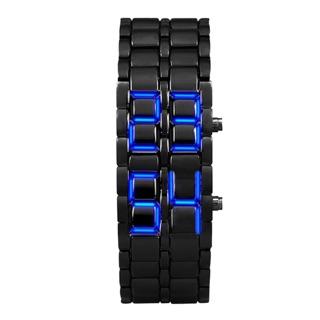 Đồng hồ đeo tay kiêm vòng tay có đèn led