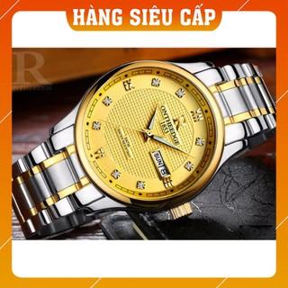 [CAO CẤP] Đồng hồ nam ONTHEEDGE 1853 RZY025 - Mặt vàng, dây demi