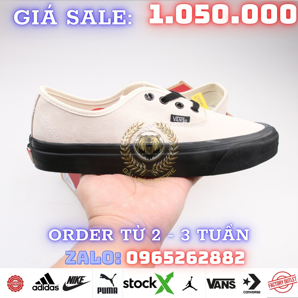 ORDER + FREESHIP Giày Outlet Store Sneaker _Vans Authentic 44 DX MSP:   ➡️ gaubeostore.shop