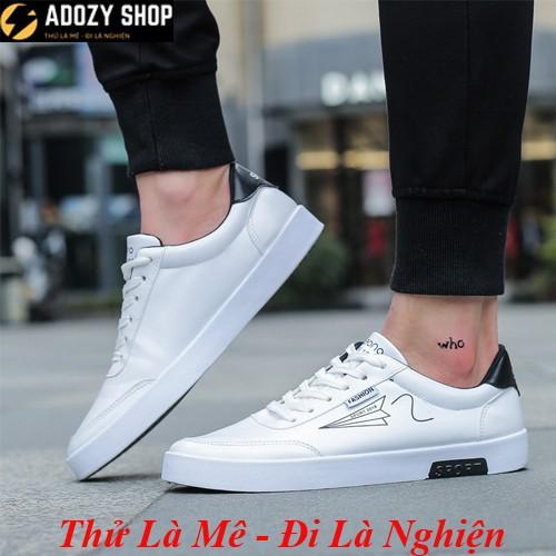 MẪU HOT 2019- Giày Nam Thể Thao Sneaker Màu Trắng Phong Cách Thời Trang Hàn Quốc Trẻ Trung Hiện Đại SNb - 14714110 , 1872673993 , 322_1872673993 , 179000 , MAU-HOT-2019-Giay-Nam-The-Thao-Sneaker-Mau-Trang-Phong-Cach-Thoi-Trang-Han-Quoc-Tre-Trung-Hien-Dai-SNb-322_1872673993 , shopee.vn , MẪU HOT 2019- Giày Nam Thể Thao Sneaker Màu Trắng Phong Cách Thời Tr