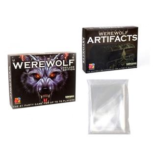 Combo Ma sói Ultimate + Ma sói artifacts + 2 xấp sleeve bọc bài