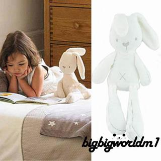 H-C★Cute Bunny Rabbit Stuffed Animal Plush Toy Baby Kids Soft Appease Bed Pillow Toy