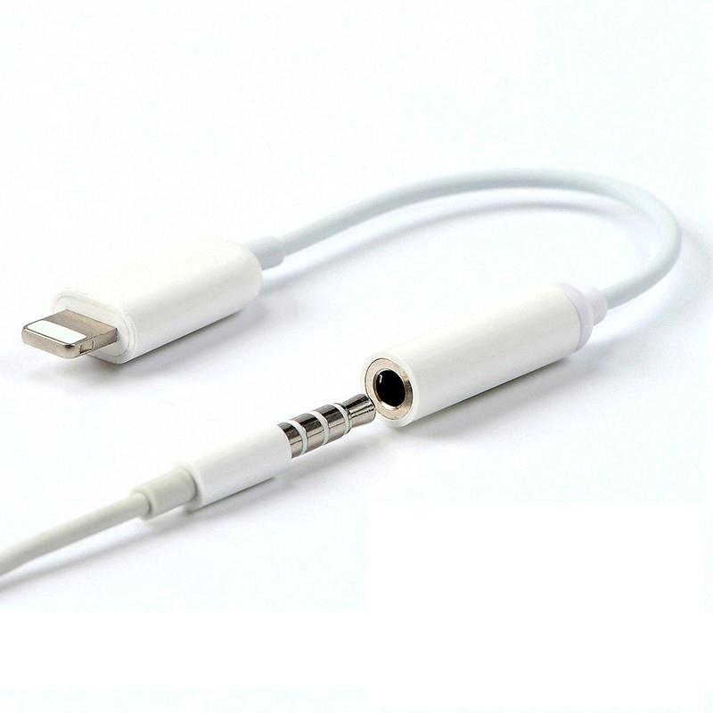 Dây cáp chuyển đổi cổng Lightning sang jack âm thanh 3.5mm cho iphone 7 8 Plus X Xs MAX XR | Shopee Việt Nam