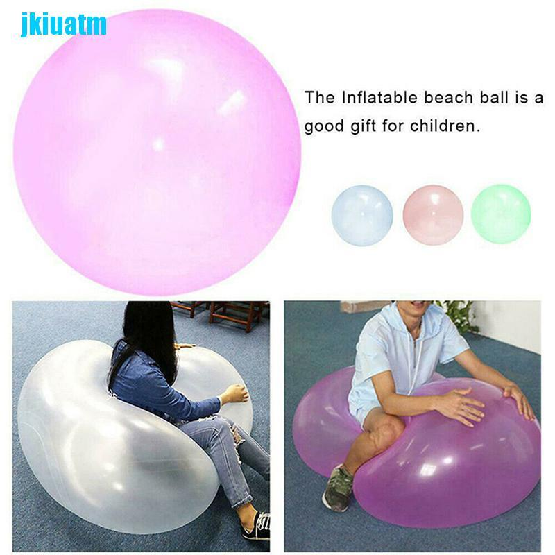 Jki Magic Big Bubble Ball Super Elasticity Strong Soft and Durable Giant Balloons