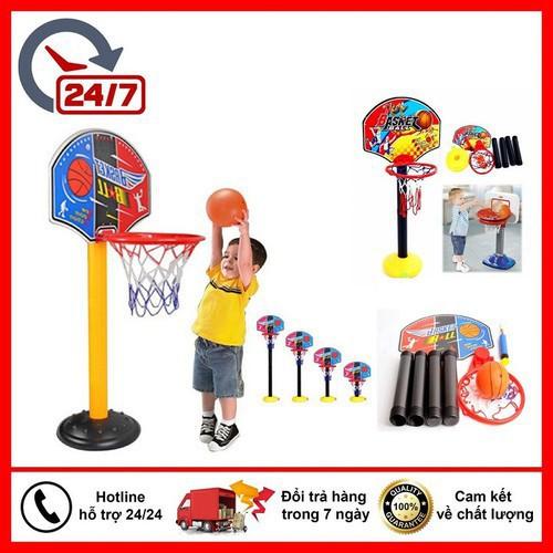 (Cam Kết Chất Lượng) Đồ chơi bóng rổ cho bé 3 tuổi trở lên