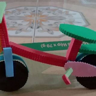 Xe đạp đồ dùng mầm non