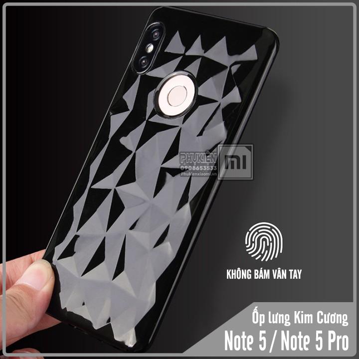 Ốp lưng Xiaomi Redmi Note 5 / Note 5 Pro TPU dẻo kim cương