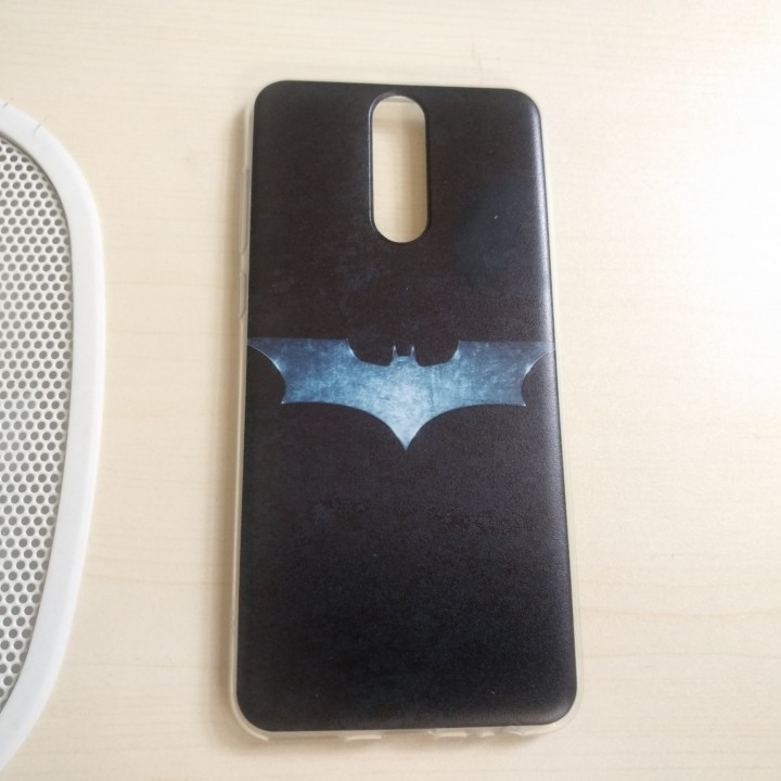 Ốp lưng Nova 2i Batman viền trong suốt