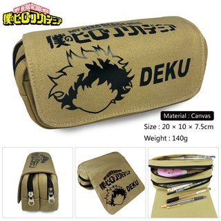 Hôp bút, đồ dùng hình my hero academia DEKU Anime Pencil Bag