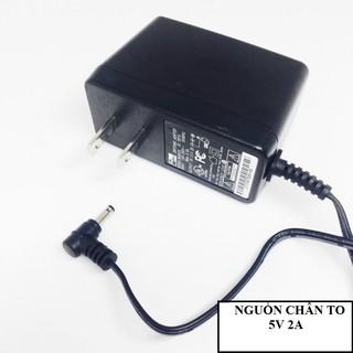 [Mã ELORDER5 giảm 10k đơn 20k] Cục Nguồn Adapter 5V-2A Chân To - hàng loại tốt