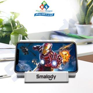Loa cảm ứng nhãn hiệu Smalody best core cảm ứng di động không dây, Hộp âm thanh không dây kiêm đế điện thoại thumbnail