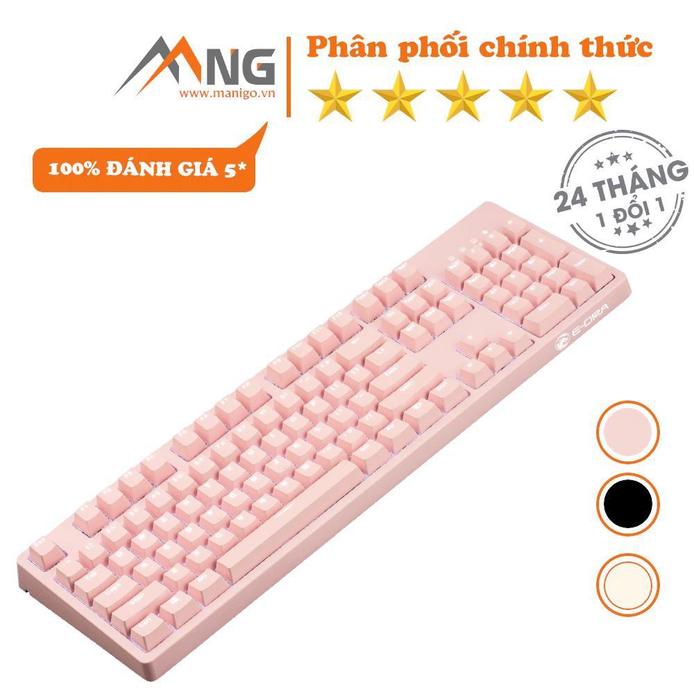 [Mã ELCLJUL giảm 7% đơn 500K] Bàn phím máy tính E-Dra EK3104, cơ, quang, có dây, có led, phù hợp chơi game, văn phòng