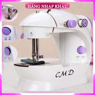 [Hàng Loại 1] Máy khâu mini cao cấp CMD có đèn may được tất cả các loại vải, dễ mang theo, bảo quản
