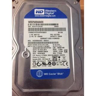 [Mã ELFLASH5 giảm 20K đơn 50K] Ổ cứng HDD 3.5 PC Dung lượng 160GB 250GB 320GB 500GB Hàng tháo máy bộ Bảo hành 1 tháng