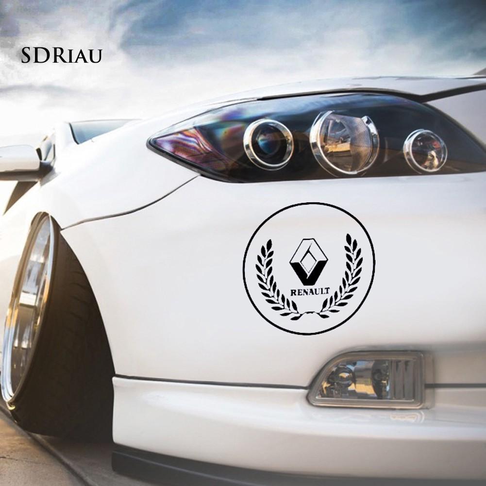 Decal Dán Trang Trí Thân Xe Hơi Renault