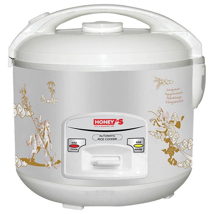Nồi cơm điện Honeys 1 8L HO708 Công Nghệ Anh Quốc