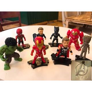 Bộ mô hình Avenger 8 nhân vật