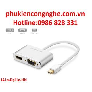 Cáp Mini Displayport to HDM+VGA chính hãng Ugreen UG-20421