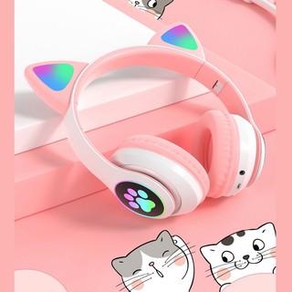 Tai Nghe Mèo Bluetooth Có Míc, Mẫu Mới Nhất 2021