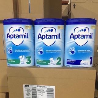 [DATE 2021] Sữa Aptamil Đức hộp cao 800gr