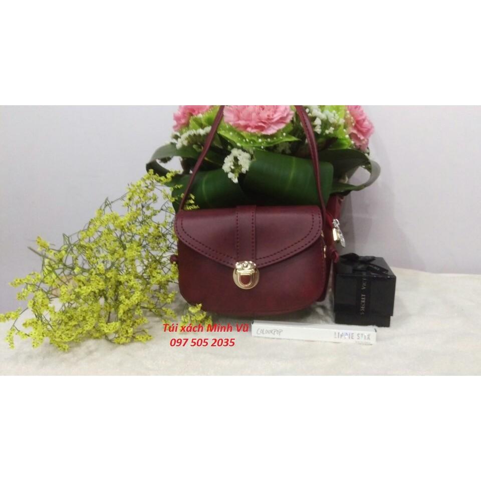 Túi xách nữ mini màu đỏ