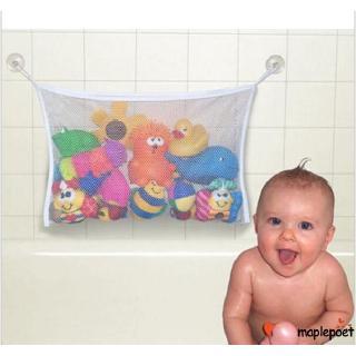 ☽&✰Baby Toy Storage Bag Bath Bathtub Suction Bathroom Stuff Net Holder Doll Organizer Tool