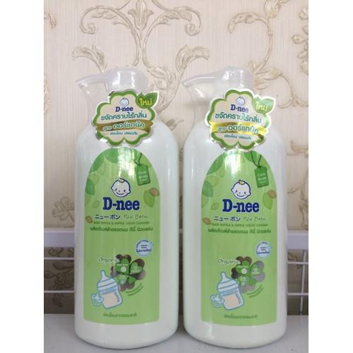Nước Rửa Bình Sữa Dnee Organic Chai 620ml Thái Lan