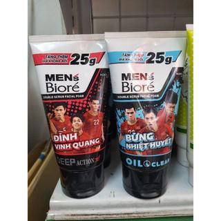 ( tặng thêm 25gr)Sữa rửa mặt Biore Men's 125gr
