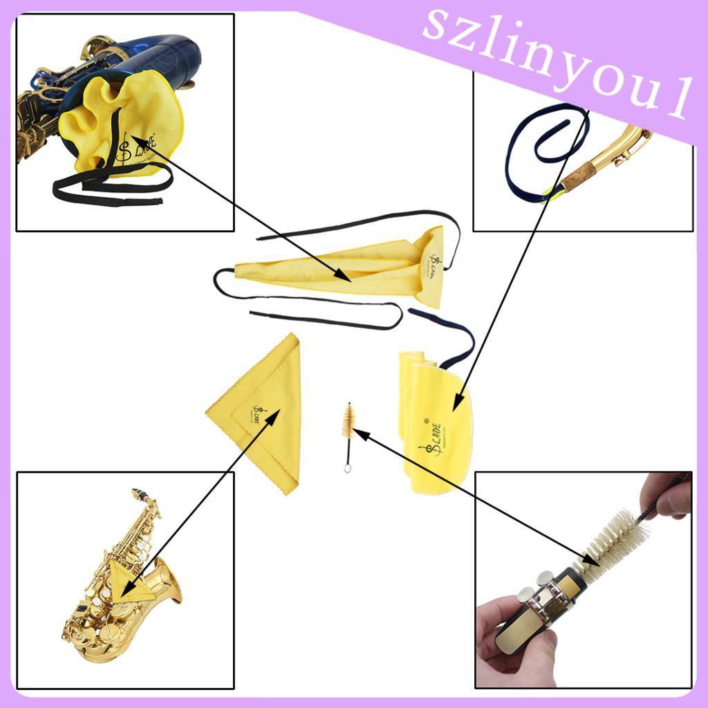 Bộ Dụng Cụ Vệ Sinh Kèn Saxophone Chuyên Dụng