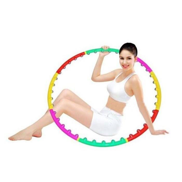 Vòng lắc eo giảm cân massage thon gọn 98cm