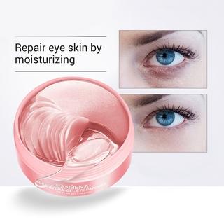 Hình ảnh Set 60 mặt nạ LANBENA collagen hoa hồng chống nếp nhăn cho mắt-1