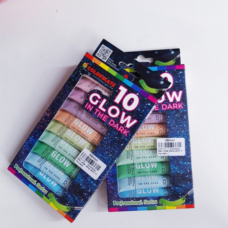 Màu phát sáng Glow In The Dark Colormate