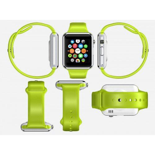 Đồng hồ thông minh Smart Watch A8 gắn sim độc lập (Xanh lá)