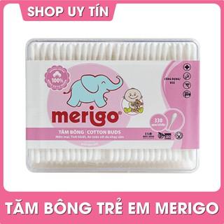 Tăm bông Bạch Tuyết Merigo tiệt trùng (55-330 que) cho trẻ em thumbnail