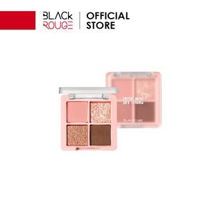 Phấn Mắt Khóa Màu Black Rouge Crystal Heart Lock Shadow 30,6g